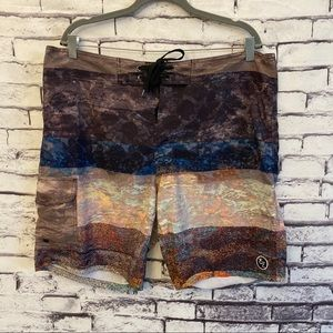 Ezekiel Watercolor Board Shorts